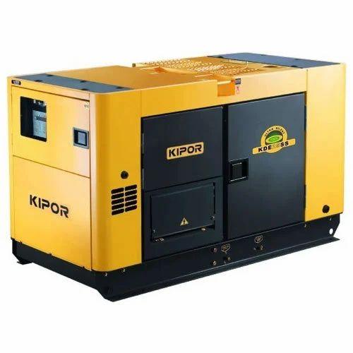 three phase kipor silent diesel generator 7 5 kva rs 220000 piece id 14975520873