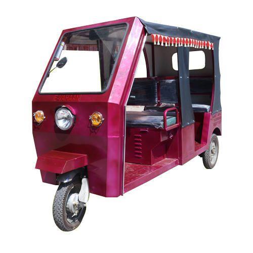 E-Vahaan Passenger E Rickshaw, Seating Capacity: 4+1 Persons, Vehicle Capacity: 4 Seater
