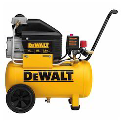 DEWALT 6 Gallon, 135 Max PSI, Horizontal Compressor