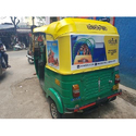 Outdoor Auto Rickshaw Branding Service, Mode Of Advertising: Offline