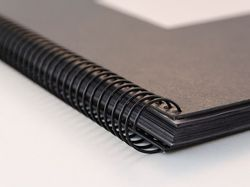Flat Leatherite Paper Spiral Photo Album