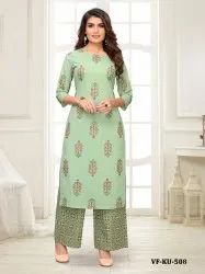 Indian Bollywood  Designer Kurta Palazzo