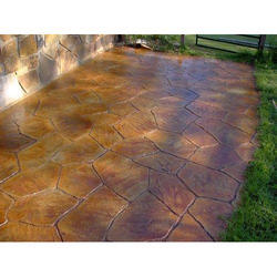 Color Stamped Concrete Flooring Service