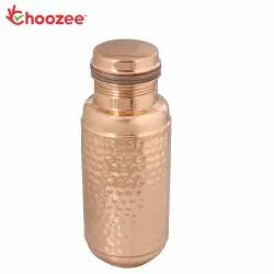 Choozee - Copper Bottle Jar - Hammered (1250 ml)