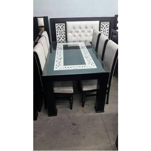 Royal 6 Seater Dining Table Set Rs 35000 Set Royal Furniture Id 17550058530