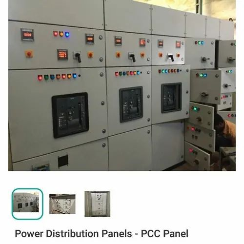 Mild Steel Single Phase Power Distribution Panel