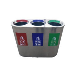 Trio Container Recycle Bin