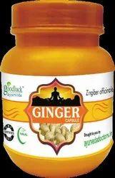 Ginger Zingiber Officinale Capsule