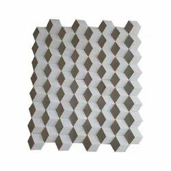 Stone White 3D Elevation Tiles, For Home, Thickness: 5-12 mm