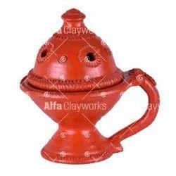 Terracotta Incense Holder