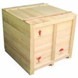 Rectangular Moisture Proof Wooden Packaging Box, For Shipping, Weight Holding Capacity(Kg): 70-300 Kg