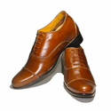 Mens Casual Elevator Leather Shoes