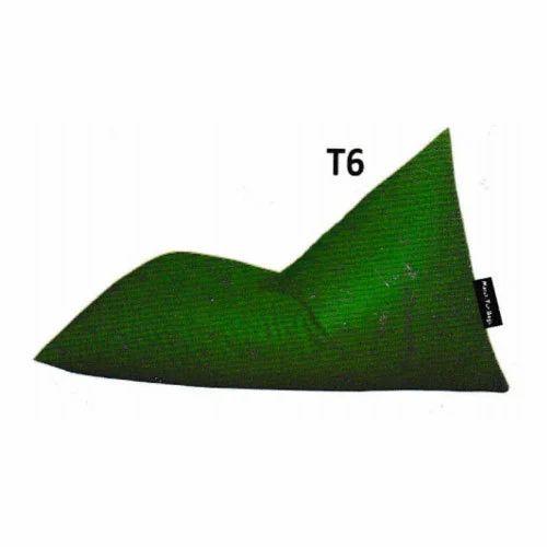 Super Triangular Green Bean Bag Ibusinesslaw Wood Chair Design Ideas Ibusinesslaworg