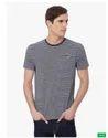 Striped Patch Pocket T-Shirt