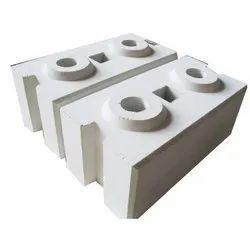 Cement Gray Interlocking Compressed Brick, Size: 9 In. X 4 In. X 3 In