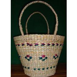 Bamboo U-Shape Handle Fancy Bag
