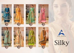 Designer Cotton Silk Salwar Suits