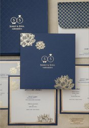 Pull-Out Insert Wedding Card/Shaadi Card, Size: Multi Sizes