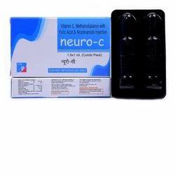 Neuro Vitamin C Methylcobalamin Folic Acid Nicotinamide Injection