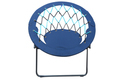 Folding Bungee Chair- Blue