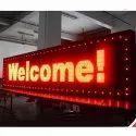 P10 single colour LED Display board