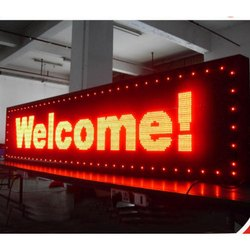 P10 single colour LED Display board