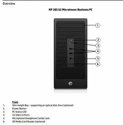 Amd 4gb HP 285 Pro G2MT Desktop