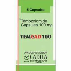 TEMCAD 100MG Capsules Temozolomide