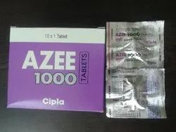 Azee Azithromycin 1000 Tablets