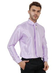 Purple Color Formal Mens Shirt