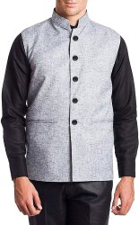 Nehru Jacket (Grey)