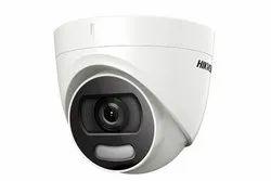 Digital Camera 2 MP Hikvision DS-2CE72DFT-F Color Vu 2MP Dome Full-time Turret Camera, for Indoor, Lens Size: 3.6mm