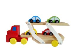 Shilping Courier Wooden Toys Car Transporter, rajasthan
