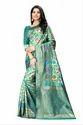 Chidiya Jacquard Silk Saree With Rich Pallu