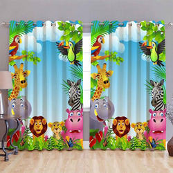 Multicolor Digital Curtain
