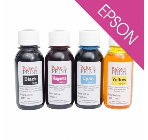 Edible Ink Refill Bottles - 100g - Epson Printers