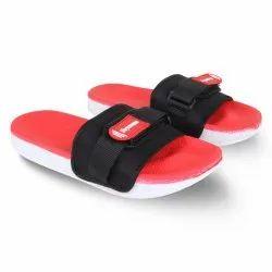 Red Rubber Slider Slipper Flip-Flops