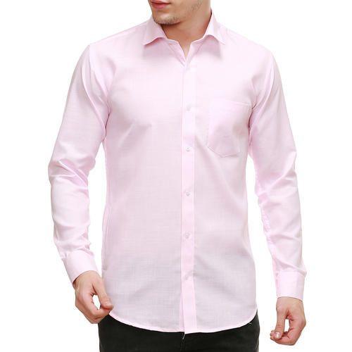 494a508aa9dc43 Men Cotton Full Sleeve Light Pink Shirt, Rs 549 /piece, Nimegh ...