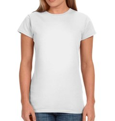 Full Sleeve Womens Round Neck T Shirts