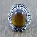 925 Sterling Silver Jewelry Amethyst Gemstone Handmade Ring