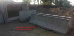 Jersey barrier precast mould