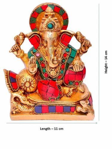 Ganesha Ganapathi Or Vinayaka In Solid Brass Metal At Rs 1750