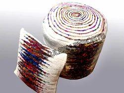 Multicolor SGE Sari Silk Pillows Covers