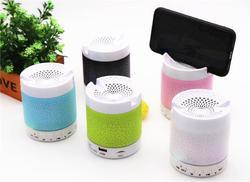 ROQ MINI LED BLUETOOTH SPEAKER WITH MOBILE HOLDER