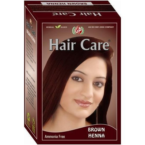 Ganga Prasad Chestnut Henna Hair Color For Personal And Parlour Use