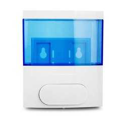 White And Blue ABS Glossy 300 ml Lotion, Conditioner, Soap, Shampoo Dispenser