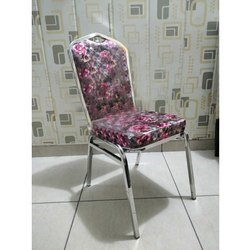Printed Stainless Steel Chair