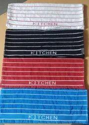 Jacquard border (kitchen towels)