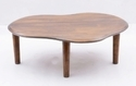 French Look Matte Finish Coffee Table