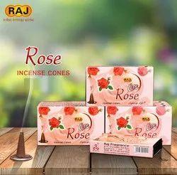 RAJ 5Y Rose Incense Cones